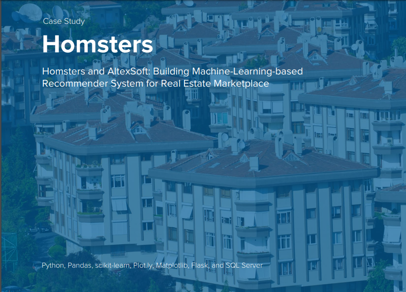 News: Homsters and AltexSoft: Building Machine-Learning